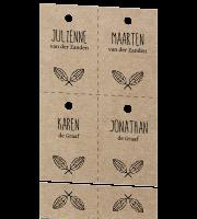 Diy Labels Aan Jullie Trouwkaart Zelf Maken Bij Lovz
