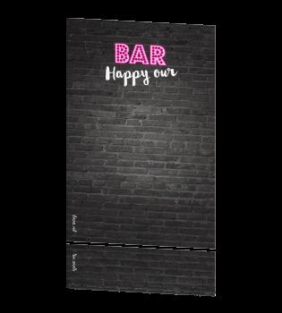 Feestelijke vrouwelijke uitnodiging 30 jaar neon - Feestelijke bar ...