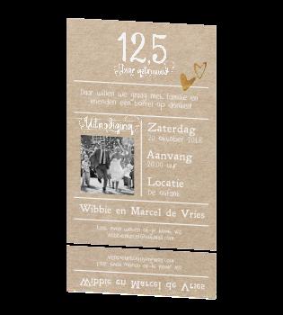 12 5 jarig huwelijk uitnodiging 12,5 jaar getrouwd uitnodigingen? Huwelijksjubileum uitnodiging  12 5 jarig huwelijk uitnodiging