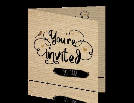 verjaardag uitnodiging vrouw