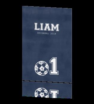 Uitnodiging Eerste Verjaardag Met Voetbal
