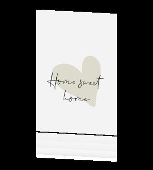 Wonderlijk Home sweet home verhuiskaart YO-19