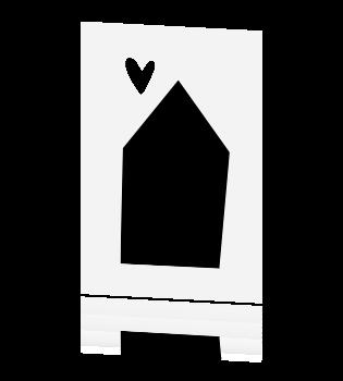 Bekend Zwart wit verhuiskaart nieuwe woning #DW05
